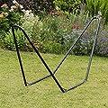 Hängemattengestell für den Garten & Camping - aus Metall - Hierbei handelt es sich nur um das Gestell von Harbour Housewares auf Gartenmöbel von Du und Dein Garten