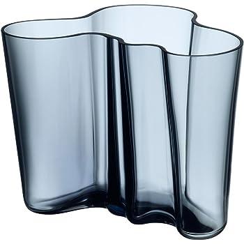 Alvar Aalto, Vaso, 160 mm, blu regale, Standard