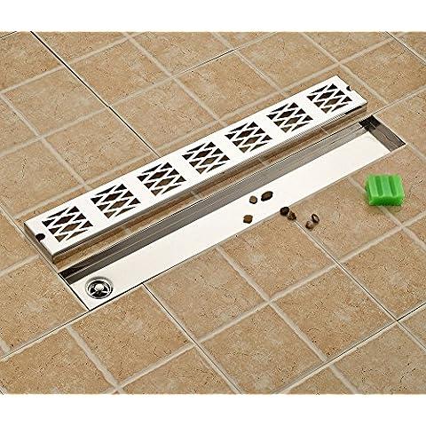 Rettangolare da balcone-Scarico per pavimento doccia con