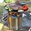 Solo Stove Campfire - Der größte Solo Stove: Leichter Holzofen mit Rocket-Kochsystem für Backpacking, Camping, Überlebenstraining, Vorbereitung auf Notfälle. Verbrennt Zweige - KEINE Batterien oder Kanister mit Flüssigbrennstoff notwendig. von Solo Stove
