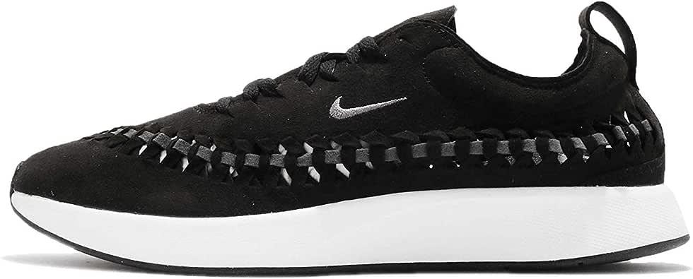 Nike Men's Dualtone Racer Woven Running Shoes BlackDark