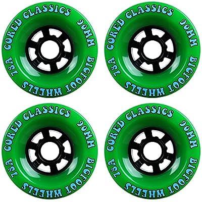 Bigfoot Cored Classics Longboard Rollen grün, 90mm