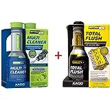 XADO Atomex Brandstofsysteemreiniger & motor oliesysteemreiniger - Multi Cleaner benzine & Total Flush - Set van 2