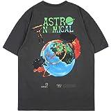 Travis Scott Astronomical Maglietta Manica Corta T-Shirt