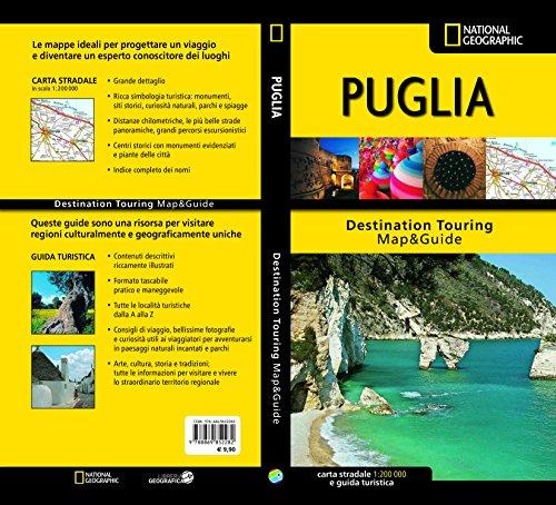 Puglia. Carta stradale e guida turistica 1:200.000