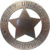 Insignia de ayudante mariscal - estrella - placa cowboy