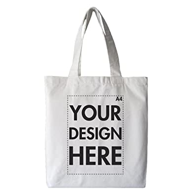 Create Your Own Custom Personalised Tote Shopping Bag! Any Text ...