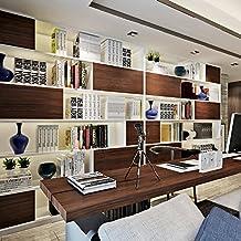 hanmero papel pintado imitacin madera para muebles vinilos pegatinas de pared para cocina