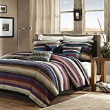 Madison Park Yosemite 6 Piece Quilted Coverlet Set - Multi - King
