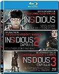 Pack Insidious 1 + 2 + 3 [Blu-...