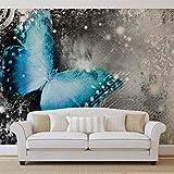 Schmetterlinge - Forwall - Fototapete - Tapete - Fotomural - Mural Wandbild - (574WM) - XXL - 368cm x 254cm - Papier (KEIN VLIES) - 4 Pieces