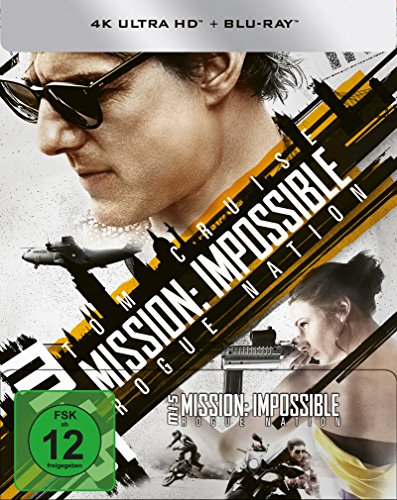 Mission: Impossible 5 - Rogue Nation (4K Ultra HD) (+ Blu-ray) limitiertes Steelbook [HD DVD] (exklusiv bei Amazon.de)