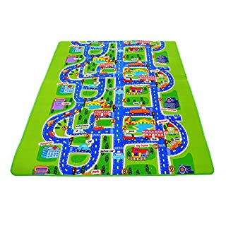 ATWFS Baby Playmats and Gyms For Children Activity Foam Floor Soft Kid Eductaional Toy Gift Gym Crawl (78.7