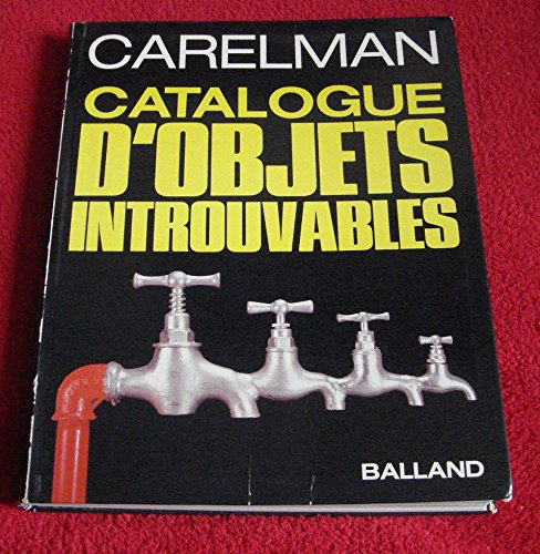 Catalogue d'objets introuvables