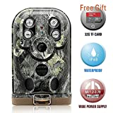 Hunting Trail Camera Nicelily Scout Game Camera with Night Vision Waterproof IP68 HD