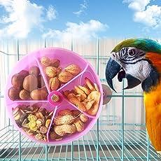 Yunso 1 stück Obst- und Gemüsehalter für Vögel, Frucht-/Gemüse-Spieß für Papageien, Wellensittiche, Sittiche, Nymphensittiche