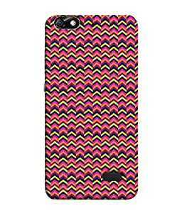FUSON Designer Back Case Cover for Huawei Honor 4C :: Huawei G Play Mini (Seamless Pattern Blue Design Drawing )