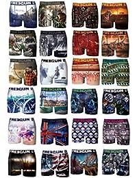 Boxer Freegun homme Pack Assorti Lot de 12+1offert