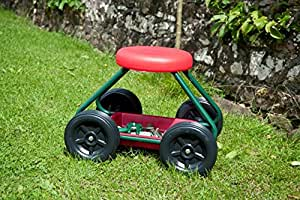 Garden Stool On Wheels The Sit On Gardening Seat Amazon
