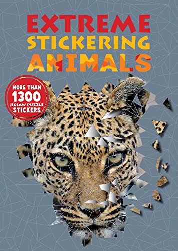 Extreme Stickering Animals por Any Puzzle Media
