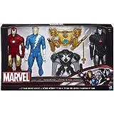 Marvel Avengers Titan Hero Serie 3 Figura Pack - Iron Man / Quicksilver / Macchina da guerra