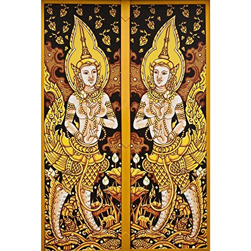 Pitaara Box PB Thai Art Peel & Stick Vinyl Wall Sticker 27.1 x 40.2inch