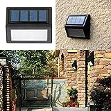 ✽ZEZKT-Home✽1pc LED Solar Light Security Lights Sensor Led Outdoor Solar Motion Lights Waterproof for Garden Pathway Yard Outside Wall Solarlampe Außenwandleuchte Weitwinkel Sehr Helligkeit