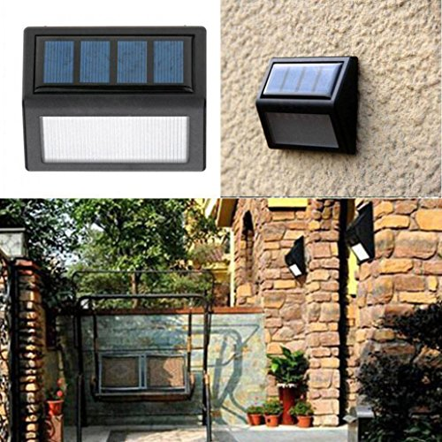 Outdoor Motion Solar Light (✽ZEZKT-Home✽1pc LED Solar Light Security Lights Sensor Led Outdoor Solar Motion Lights Waterproof for Garden Pathway Yard Outside Wall Solarlampe Außenwandleuchte Weitwinkel Sehr Helligkeit)