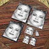 MELODY ANDERSON - Original Art Gift Set #js001 (Includes - A4 Canvas - A4 Print - Coaster - Fridge Magnet - Keyring - Mouse Mat - Sketch Card)