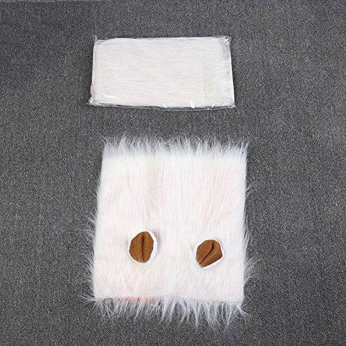 Lamzoom Großer Löwenkostüm für Hunde Weihnachten Halloween Kleidung Festival Fancy Dress up Pet ()