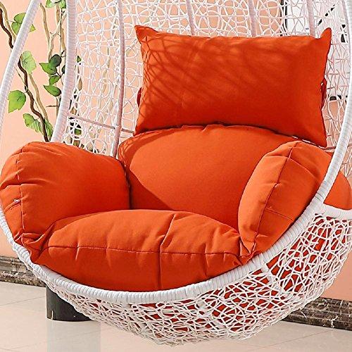 NACHEN Swing Chair Cojín Incremento Acolchado Swing Sofa Cushion Hogar Que cuelga la Almohadilla de la Silla, Color 4