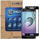 G-Shield Pellicola Protettiva per Samsung Galaxy A3 (2016) in Vetro Temperato, Copertura Completa, Nero
