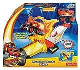 Fisher Price DGK55 - Corsia dei Box di Blaze, Multicolore immagine