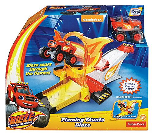 Blaze y los Monster Machines - Aro de fuego Fisher-Price (Mattel DGK55)