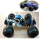 1/5Th Scale Petrol RC Car for Adult,4WD RTR Buggy with 32CC High Performance Gasoline Engine,Radio Controlled Monster Truck,O