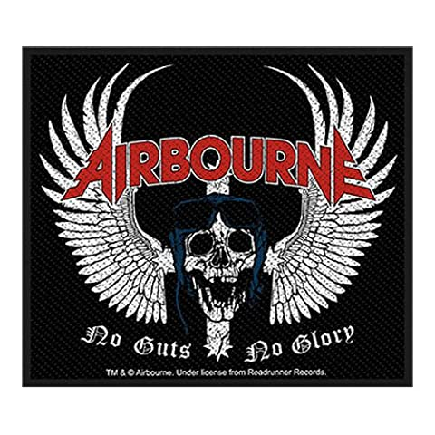 Airbourne - Patch Skull Wings (in 10 cm x 10