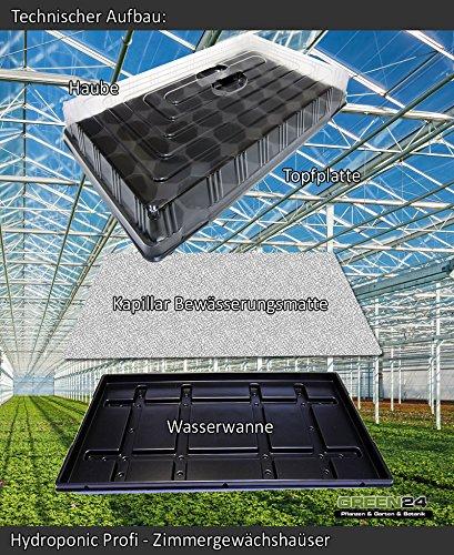 Hydroponik 60 Zimmer-Gewächshaus Profi XL