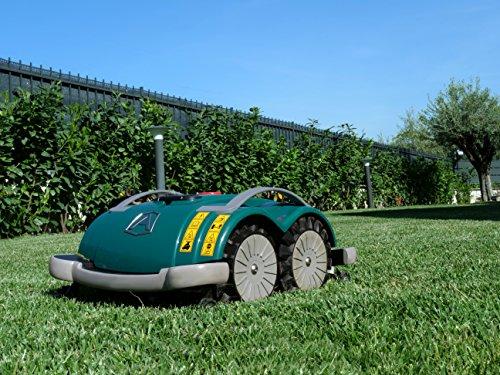 Ambrogio Mähroboter | Modell : L60 Deluxe | Einfach zu bedienen, ohne Installation und ohne Begrenzungskabel für kleine Gärten - 3
