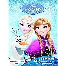 Frozen (Libro educativo Disney con actividades y pegatinas)