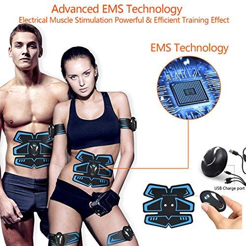 Zoom IMG-3 zhenrog elettrostimolatore muscolare addominale tonificante