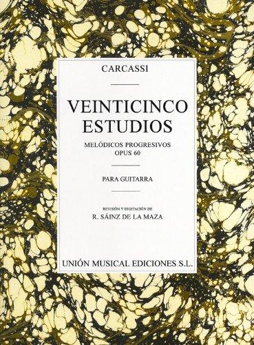 Carcassi: Twenty-Five Estudios Progresivos