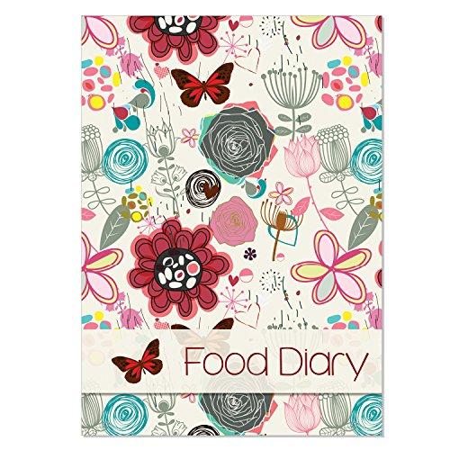Fitness & Wellbeing Ditä-Tagebuch, Ernährungs-Tagebuch, für die Gewichtsreduzierung, zur Diätunterstützung, mit Platz für Notizen, mit herbstlichem Umschlag [evtl. nicht in deutscher Sprache]