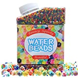 FanBeads Water Beads Rainbow Mix Orbeez Jelly Water Growing Balls for Kids Tactile Sensory Toys, Vases, Plants, Wedding and Home Decoration
