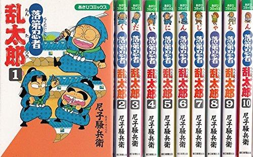 rakudai-ninja-rantaro-1-60-set-japanese