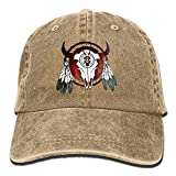 Best Buffalo Arrows - Gym Sports Baseball Cap Native American Buffalo Skull Review