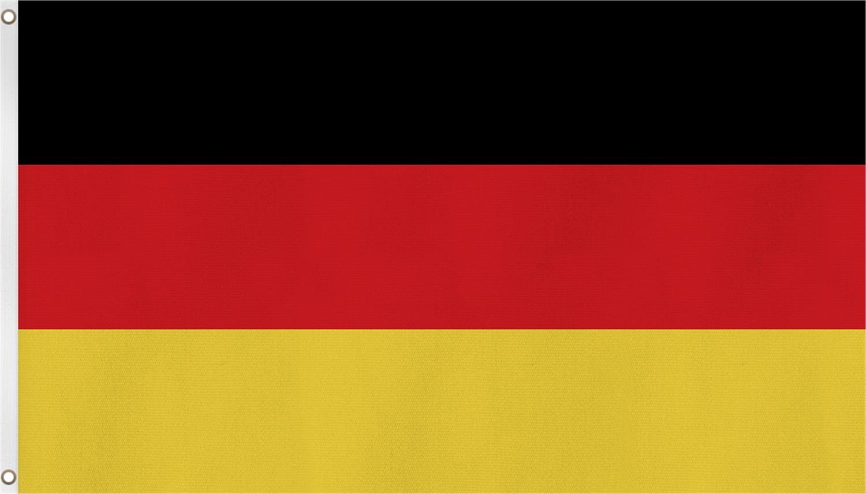 normani Deutschland Flagge Großformat 250 x 150 cm wetterfest Fahne