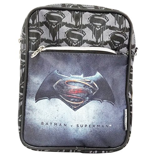 Dc comics batman versus superman justice borsa a spalla a tracolla porta tablet ipad ebook