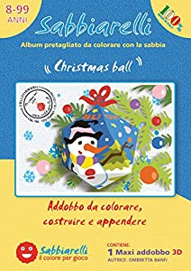 Sabbiarelli 100CB0101-Álbum Christmas Ball