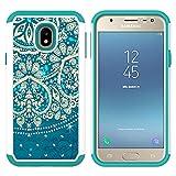 Galaxy J3 (2017) Case, MagicSky [Shock Absorption] Studded