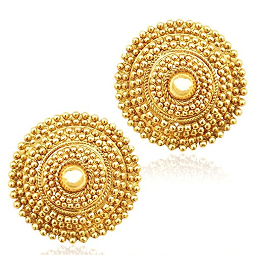 Royal-Bling-Jewellery-Fancy-Party-Wear-Gold-Plated-Traditional-Stud-Earrings-For-Women-Girls